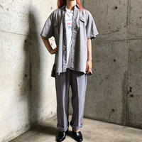 1950〜60'S work vintage ショートスリーブシャツ[8033]