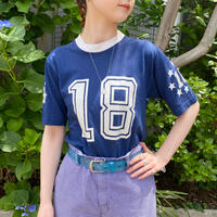 vintage Fun-Tees ネイビー ナンバリング Tシャツ [8922]