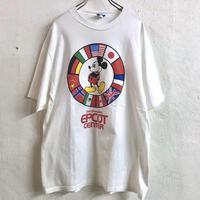 90'S  VINTAGE ミッキープリントTシャツ (WHITE) [9019]