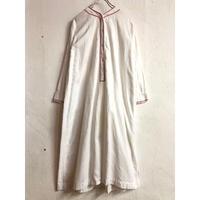 1920'S France Antique ナイトドレス (WHITE) [7130]