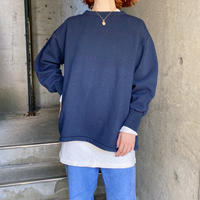 Hungary military  vintage スウェット(navy overdyed) [8279]