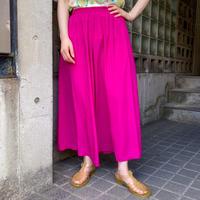 """Vintage """"Lill Ann"""" フューシャピンクカラー フレアスカート [2278]"""