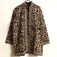 カシミール刺繍ジャケット(BLACK)[7294]