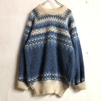 ノルディックニット (BLUE) [7292]