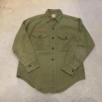 【KIDS】ボーイスカウトシャツ(KHAKI)[7430]