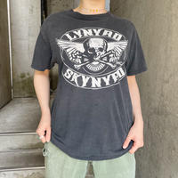 "used 2005製 ""LYNYRD SKYNYRD"" 黒 バンドTシャツ[8664]"