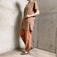 Czech military スリーピングパンツ(PINK BROWN overdyed)[7831]