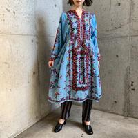 VINTAGEパキスタンバロチ刺繍ドレス[9286]