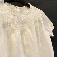 Antique cotton lace OP for baby  [M096]