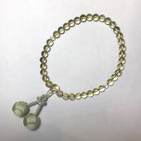 グリーントパーズ数珠(女性用)   No.55123