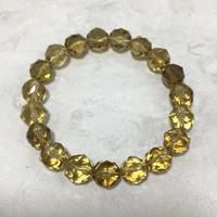 黄水晶ブレスレット No.13200