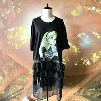 zechia MAKEOVER☆アリスT-shirt / XL