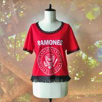 zechia MAKEOVER☆古着風ROCK-T / RAMONES ⑩