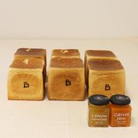 パン6斤とジャム2個のセット