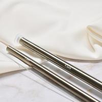 【ケース単品】Wide stainless straw  -copper02-