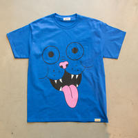 FRITZ THE POCKET TSHIRT by GANGSTER DOODLES (BLUE)【CC0006】