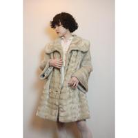 1950s Vintage faux  fur coat