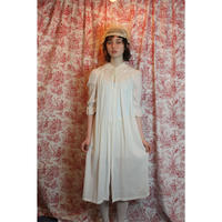 Eyelet cotton gown