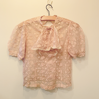 1930s lace top