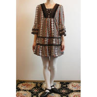 Vintage Tyrol Style Mini Dress