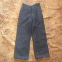 Tweed wool pants