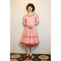 Pink tyrol dress