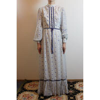 1970s Floral Dress