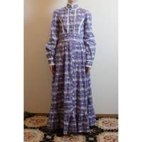 D494 rare! LAURA ASHLEY studio piece Deer Print Dress