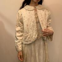 1930s Floral silk bed jacket