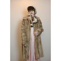1950s fake fur coat