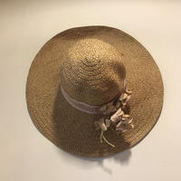 vintage straw hat wide brim