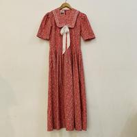 LAURA ASHLEY red sailor dress