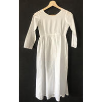 victorian empire dress cotton