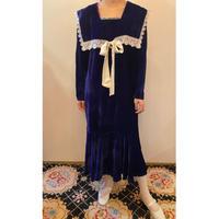 Gunne Sax velvet dress