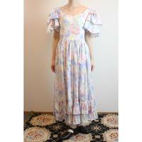 D452 rare! 1980s LAURA ASHLEY dead-stock Dress