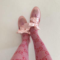 K106 PINK GLITTER  Bathing Shoes