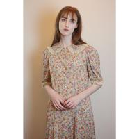 D662 - 1930s floral dress