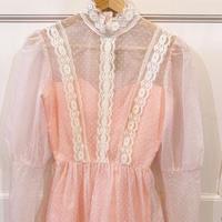 1970s pink mini dress