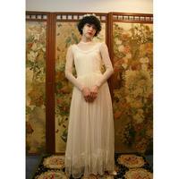 Heart patch wedding dress