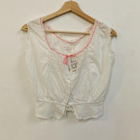 Antique cotton top (underwear)