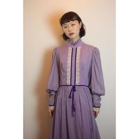 D645 KATI purple maxi dress