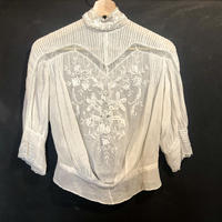 1920's lace blouse
