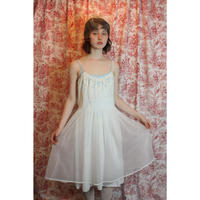 White lingerie slip