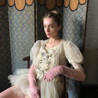 19th century tulle bodice