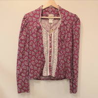 GUNNE SAX floral top