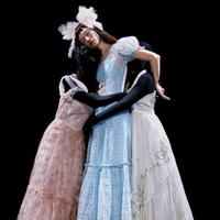 1940s baby blue rare dress