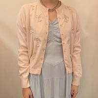 "1950s pink cardigan ""cherry"""
