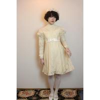 1970s lace mini dress