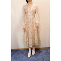 1970s GUNNE SAX floral dress