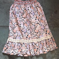 1970s floral skirt